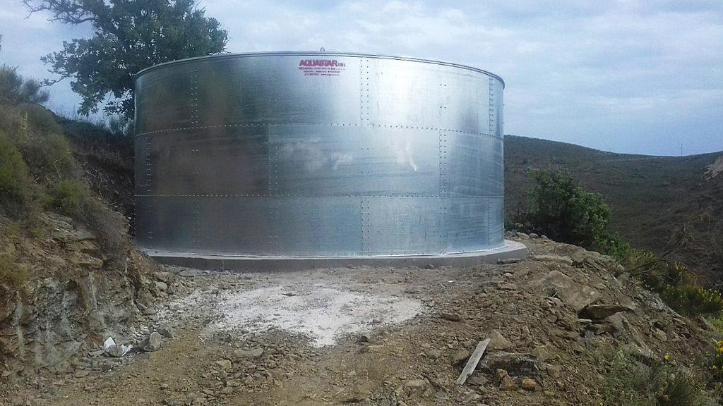 Εγκαταστάθηκαν νέες δεξαμενές νερού στον Ατζερίτη και στον Οτζιά ...